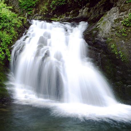 写真:女神の滝