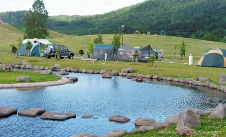写真:オートキャンプ場